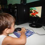 Aulas de Informática no Maternal I