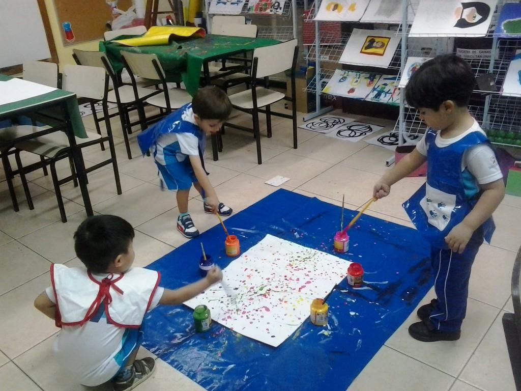 Jackson Pollock Inspira Alunos Do Maternal Ii Insa Instituto