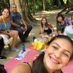 Piquenique com os alunos da 3001 no Parque Lage