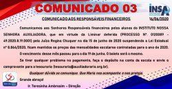 COMUNICADO 03