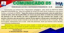 COMUNICADO 05